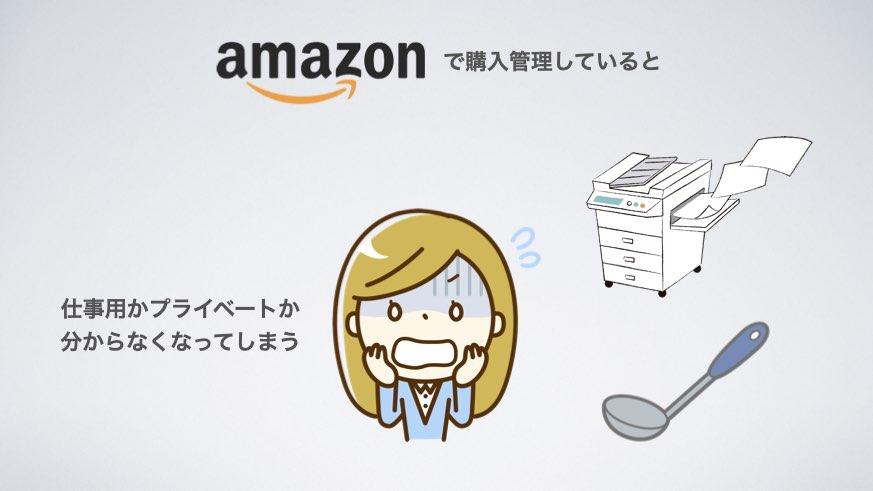 Amazonで購入管理すると
